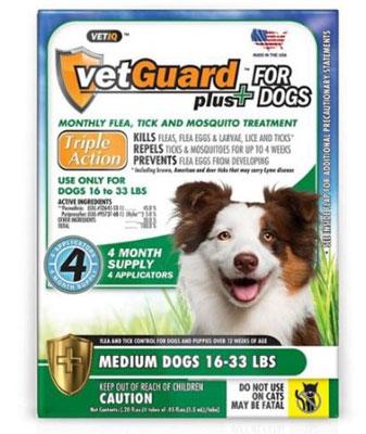 VetGuard Plus Flea and Tick Treatment for Dogs