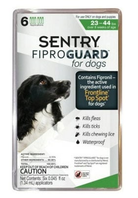 FiproGuard Topical Flea and Tick for Dogs