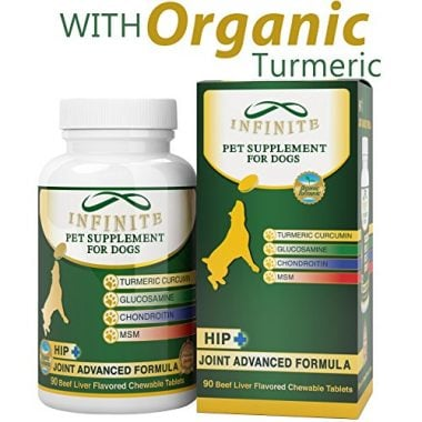 All-Natural Hip & Joint Supplement for Dogs by Infinite Pet Supplements