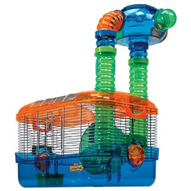Critter Trail Triple Play 3-in-1 Habitat for Hamsters by Kaytee
