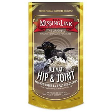 Canine Ultimate Hip & Joint, & Coat Dog Supplement by The Missing Link