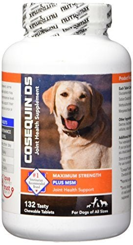 Cosequin DS Plus MSM Chewable Tablets by Nutramax