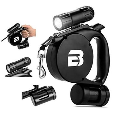 3-in-1 Retractable Dog Leash by BC Retail
