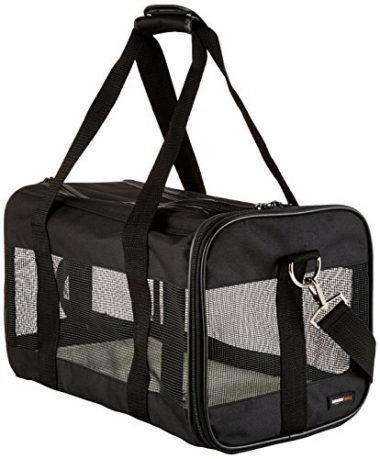 Soft-Sided Pet Travel Carrier by AmazonBasics