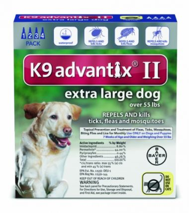 K9 Advantix II by Bayer
