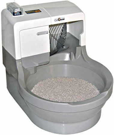 Self Washing Self Flushing Cat Box by CatGenie