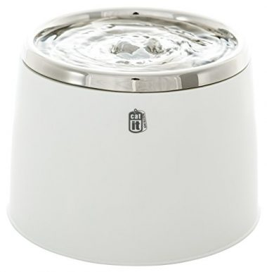 Fresh & Clear Stainless Steel Top Drinking Fountain by Catit