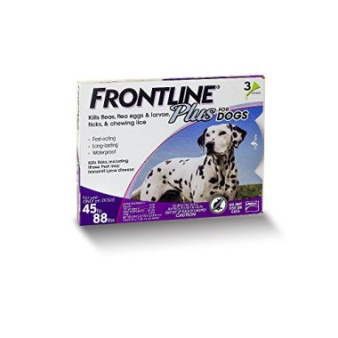 Frontline Plus for Dogs and Puppies  45 to 88 Pounds by Merial