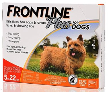 Frontline Plus for Dogs and Puppies 5 to 22 Pounds by Merial