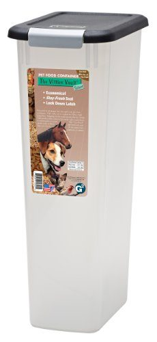 Vittles Vault Select Airtight Pet Food Container by Gamma2 Dog Reviews | Best Containers of 2019