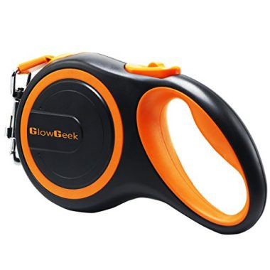 Retractable Dog Leash by GlowGeek