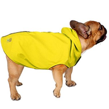 Jelly Wellies Premium Quality Waterproof Reflective Deluxe Raincoat by the American Kennel Club