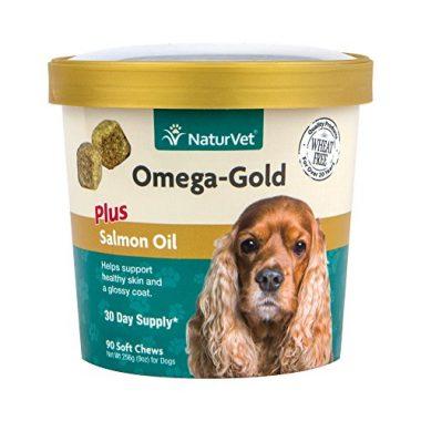 Omega-Gold Plus Salmon Oil by NaturVet