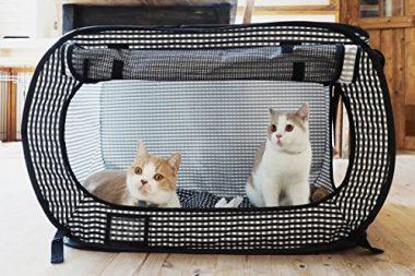 Portable Cat Cage by Necoichi