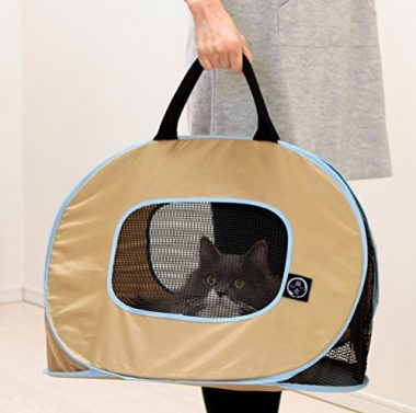 Portable Ultra-Light Cat Carrier by Necoichi