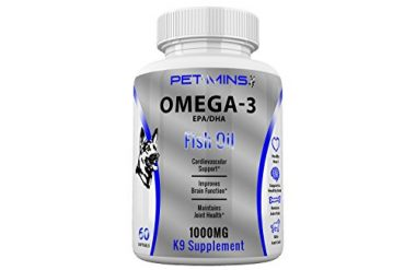 Omega 3 EPA/DHA Fish Oil K9 Supplement by Pet-mins