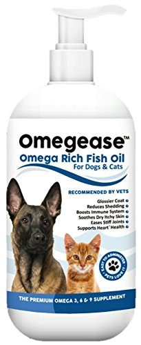 Omegease Omega Rich Fish Oil for Dogs and Cats by Finest For Pets