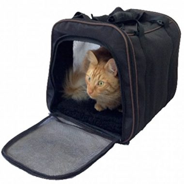 Soft Sided Pet Carrier by Pawfect Pet