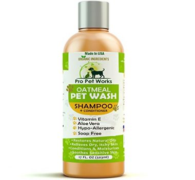 Pro Pet Works Organic Oatmeal Dog Shampoo