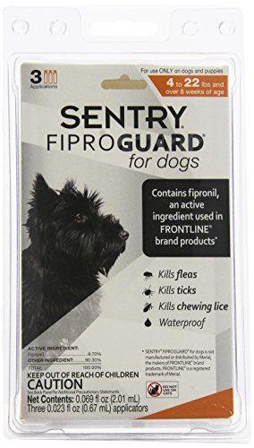 FiproGuard Topical Flea and Tick for Dogs by Sentry Industries, Inc.