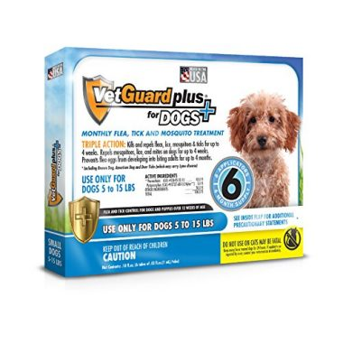 VetGuard Plus Flea & Tick Treatment for Small Dogs by Vetguard