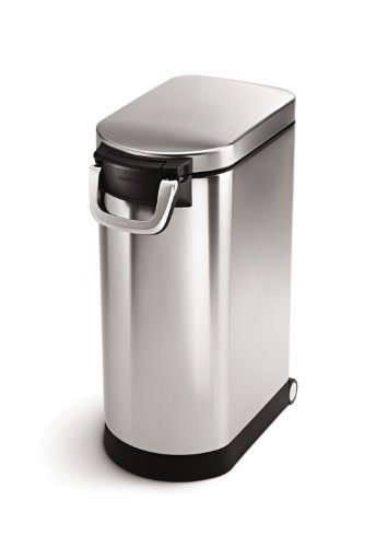 Large Pet Food Storage Can by simplehuman