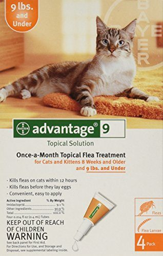 Advantage Once-a-Month Topical Flea  Treatment for Cats by Bayer
