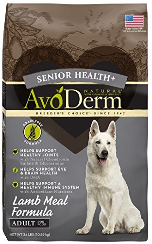 Senior Health+ Natural Dog Food by AvoDerm