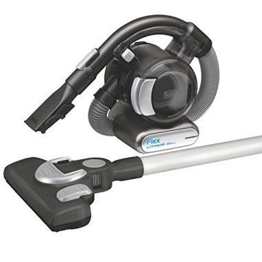 BDH2020FLFH MAX Lithium Flex Vacuum with Stick Vacuum Floor Head and Pet Hair Brush by Black + Decker