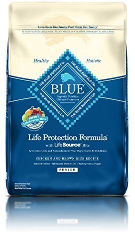 BLUE Life Protection Formula Senior Dog Chicken & Brown Rice by Blue Buffalo