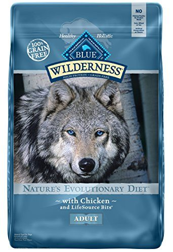 High Protein Grain-Free Adult Dry Dog Food by BLUE Wilderness