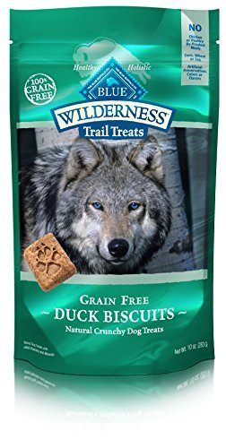 Grain Free Biscuits Crunchy Dog Treats by BLUE Wilderness