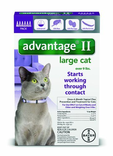 Advantage II Flea Control Treatment for Cats by Bayer