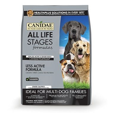 Life Stages Formulas Dry Dog Food for Seniors by CANIDAE
