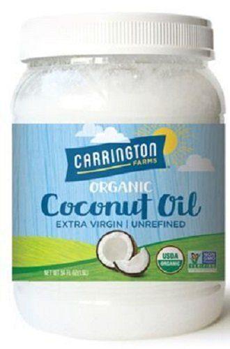 Organic Extra Virgin Coconut Oil by Carrington Farms