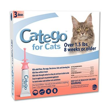 Catego for Cats Flea and Tick Control by Ceva Animal Health, LLC