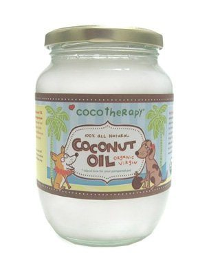 Organic Virgin Coconut Oil for Pets by CocoTherapy