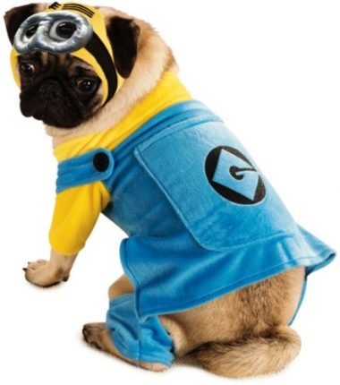 Despicable Me 2 Minion Pet Costume by Rubie's