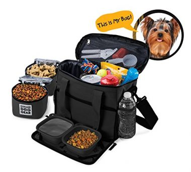 Week Away Tote Dog Travel Bag by Overland Dog Gear