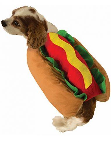 Cute Hot Dog Weiner Bun Halloween Pet Costume by Forum Novelties