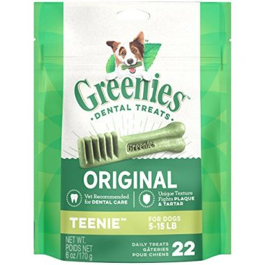 Original TEENIE Dog Dental Chews Dog Treats by Greenies