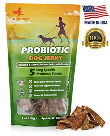 Probiotic Jerky Healthy Dog Treats by InMotion