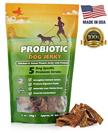 InMotion Probiotic Jerky Healthy Dog Treats