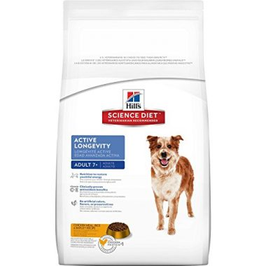 Adult 7+ Active Longevity Chicken Meal, Rice & Barley Dry Dog Food by Hill's Science Diet