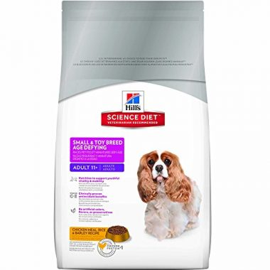Age Defying Small & Toy Breed Dry Dog Food for Adults 11+ by Hill's Science Diet