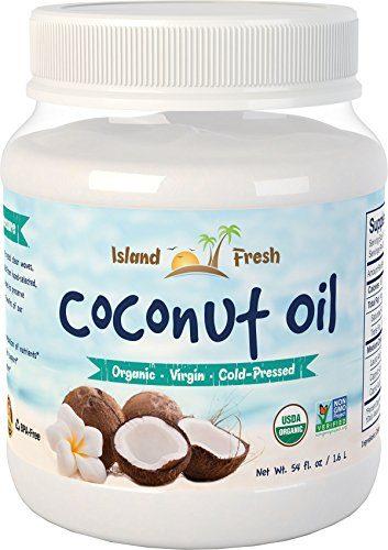 Superior Organic Virgin Coconut Oil by Island Fresh