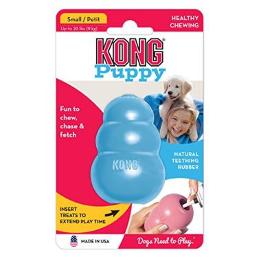 Puppy KONG Durable Rubber Chew and Treat Toy by KONG