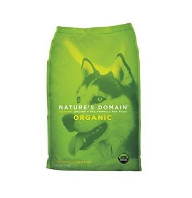 Kirkland Signature USDA Organic Chicken & Pea Formula Dry Dog Food
