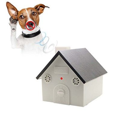 Ultrasonic Outdoor Anti Barking Deterrent by HappyHapi