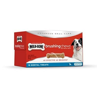 Brushing Chews Daily Dental Dog Treats by Milk-Bone
